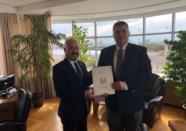 السفير العراقي حيدر منصور هادي العذاري