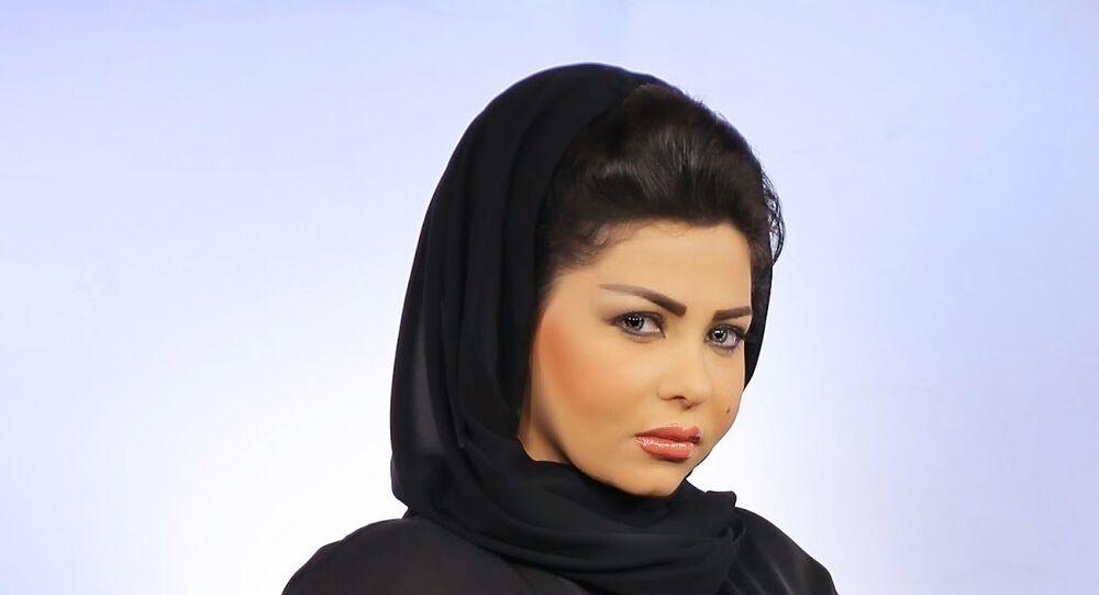 المذيعة السعودية شيرين الرفاعي