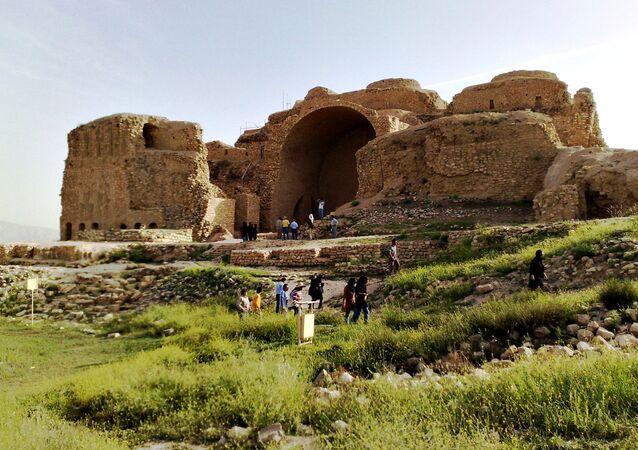 قلعة أردشير في فيروز آباد، إيران