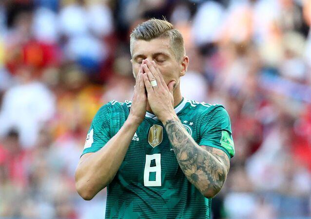 لاعب المنتخب الألماني توني كروس