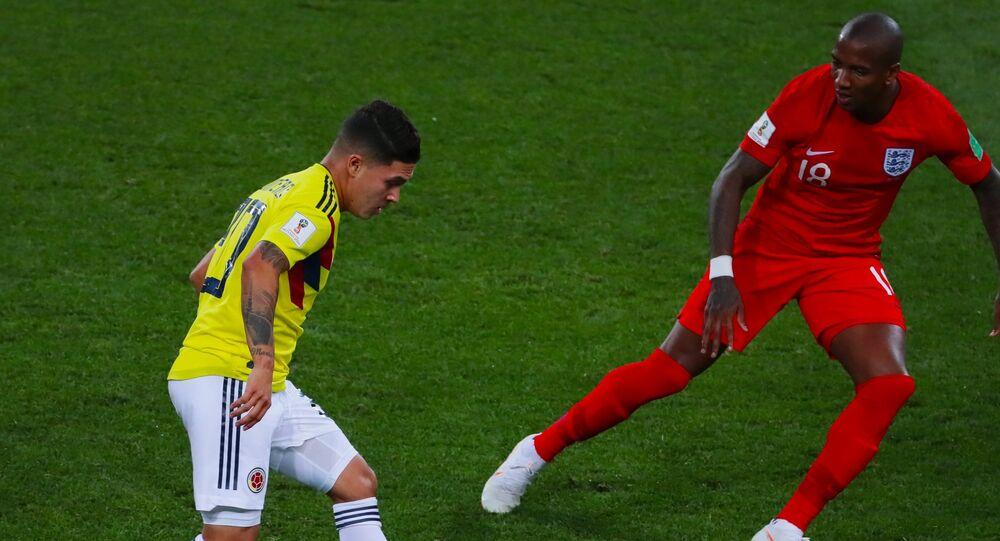 منتخب انجلترا وكولومبيا في مبارة دور ال 16