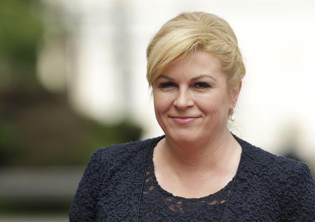 رئيسة كرواتيا كولندا غاربر كيتاروفيتش