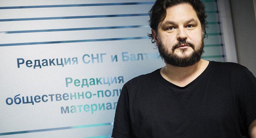 رئيس تحرير سبوتنيك –لاتفيا، فالنتينس روجينتسفس