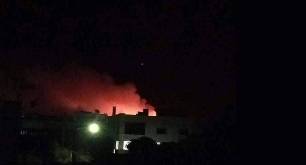 انفجار في مدينة محردة السورية
