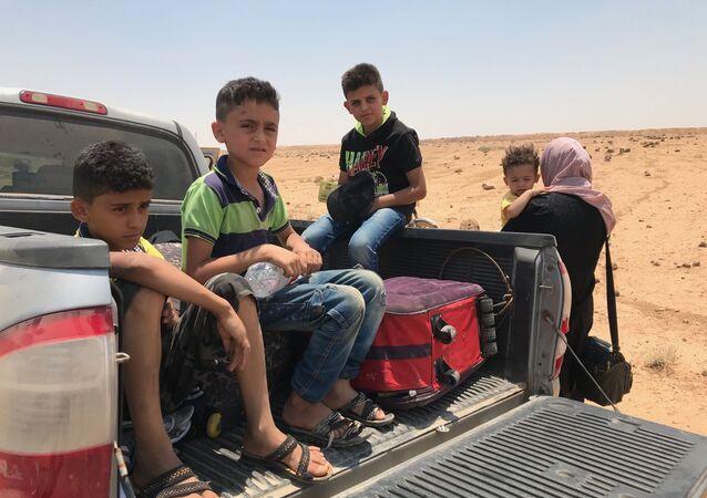 عائلة، فارون من داعش من مدينة صيدا