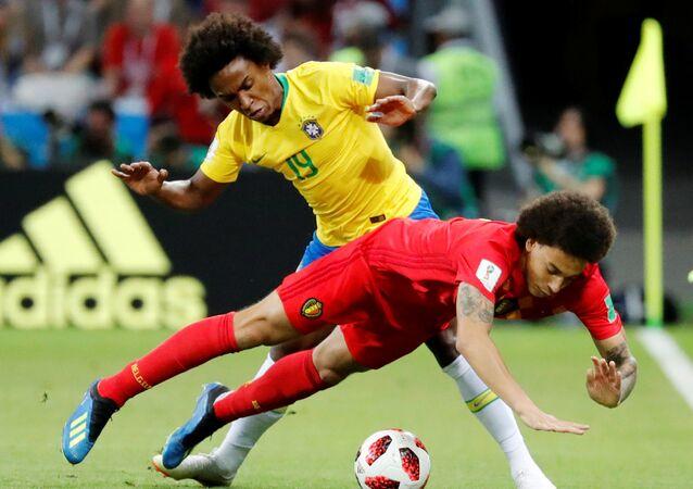 مباراة البرازيل وبلجيكا