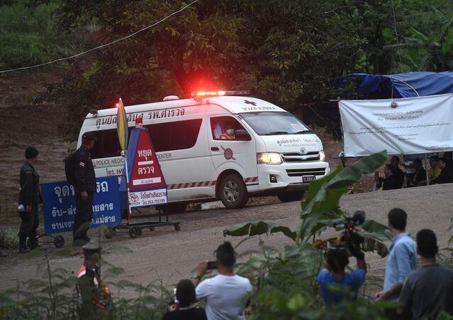 عمليات البحث والإنقاذ، الأطفال العالقين في الكهف، أطفال الكهف، تايلاند 8 يوليو/ تموز 2018