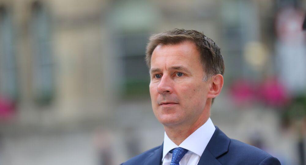وزير خارجية بريطانيا، جيريمي هانت