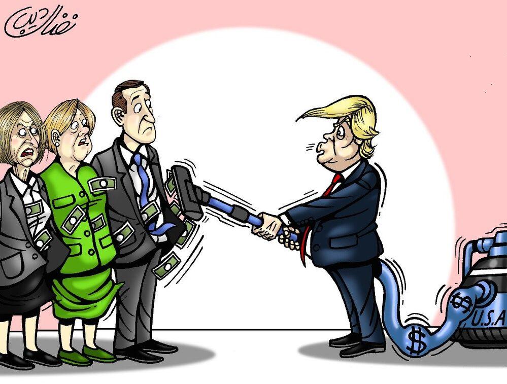 ترامب: إن دول الناتو يجب أن تسدد ما أنفقته أمريكا على الدفاع عنهم