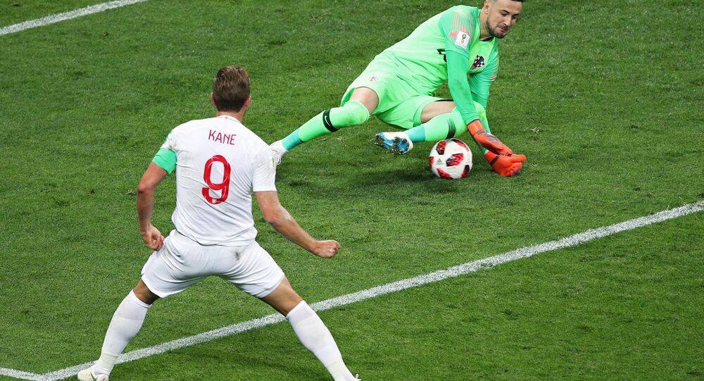 هدف ضائع من هاري كين لاعب منتخب إنجلترا