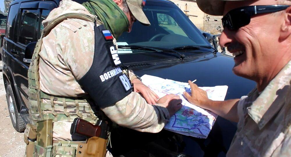 الحضور الروسي في النعيمة، درعا، سوريا
