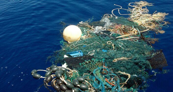 النفايات في المحيط الهادئ