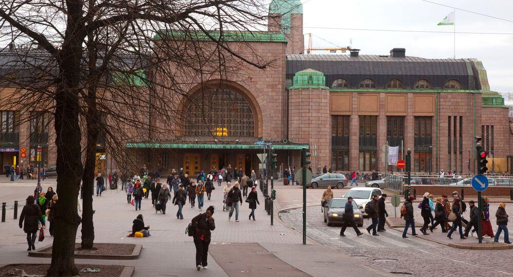 شوارع العاصمة الفنلندية