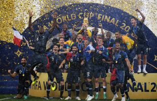 فوز منتخب فرنسا بكأس العالم روسيا 2018