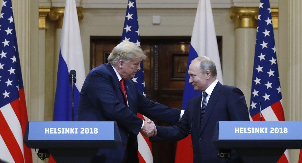 لقاء ترامب مع بوتين في هلنسكي