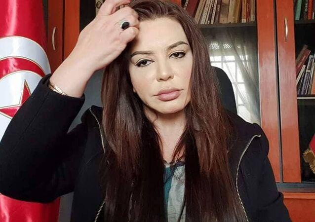 مرشحة الرئاسة التونسية ليلى الهمامي