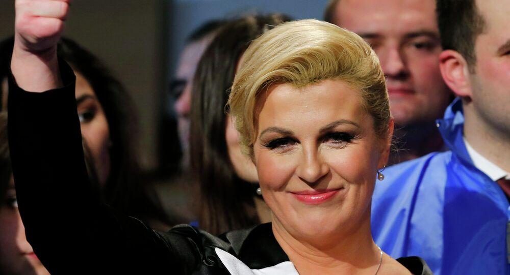 الرئيسة الكرواتية، كوليندا غرابار كيتاروفيتش
