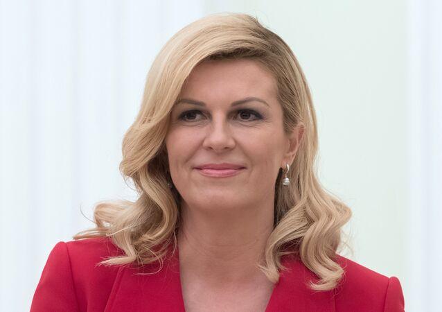 الرئيسة الكرواتية، كوليندا غرابار- كيتاروفيتش
