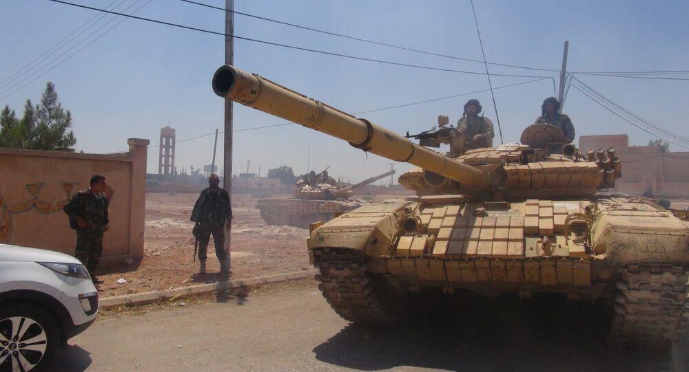 الجيش السوري يتابع عملياته ويتحضر لاجتثاث الجيب الداعشي الأخير قرب الجولان المحتل