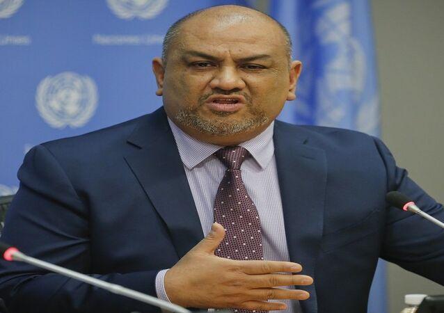 وزير الخارجية اليمني خالد اليماني