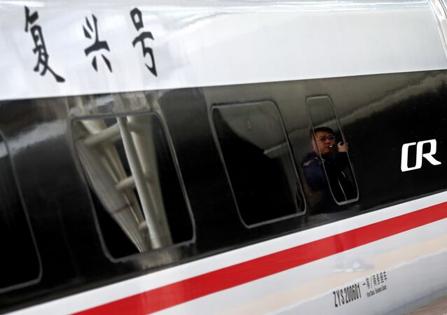 قطار فائق السرعة في الصين