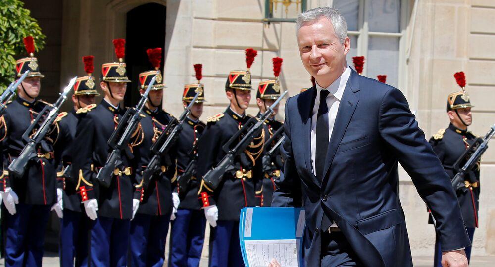 وزير المالية الفرنسي برونو لومير
