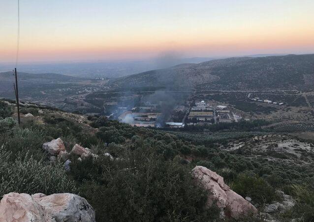 معامل الدفاع في حماة السورية - استهداف إسرائيلي