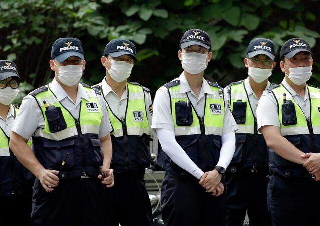 الشرطة في كوريا الجنوبية