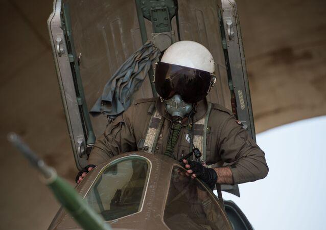 إسقاط طائرة سوخوي السورية ومقتل الطيار