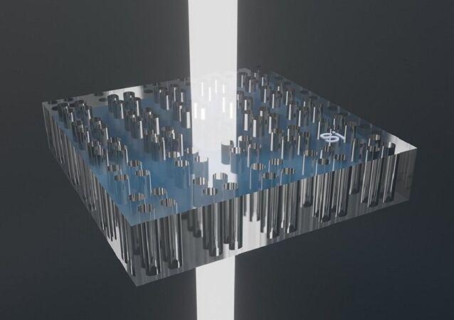 مادة خارقة عازلة سهلة التصنيع تتمتع بخصائص يطلق عليها ANAPOL وهي أقطاب الجسيمات السالبة