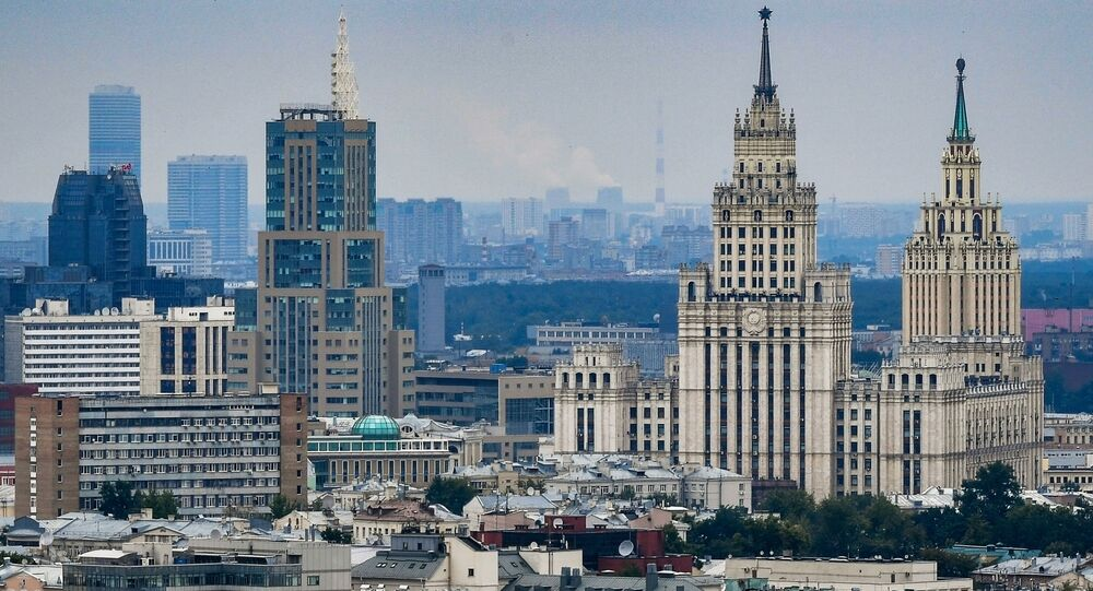 مشهد يطل على مدينة موسكو - ساحة كراسني فوروتا
