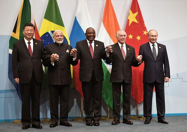 رؤوساء دول مجموعة بريكس