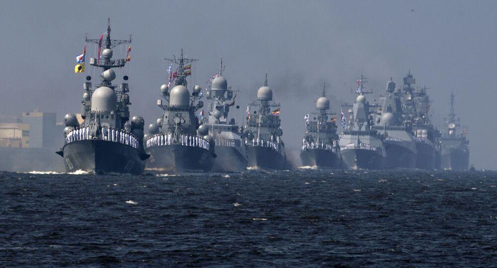 قطع الأسطول الروسي