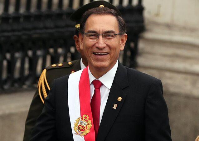 رئيس بيرو مارتن فيزكارا