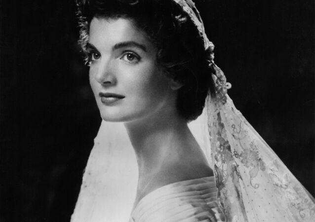 جاكلين كينيدي - زوجة الرئيس الأمريكي الراحل جون كينيدي