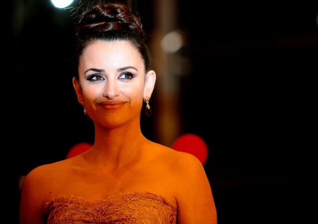 الممثلة الإسبانية بينلوبي كروز
