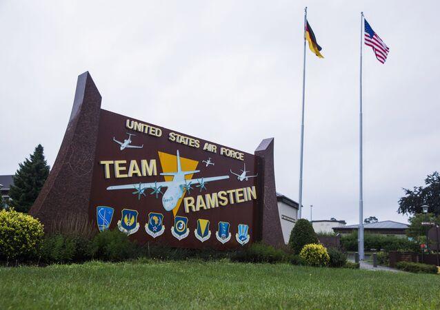 قاعدة رامشتاين للقوات الجوية الأمريكية في ألمانيا