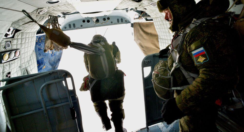 الاحتفال بيوم قوات الإنزال الجوي في منطقة بريمورسكي كراي