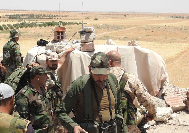 نقطة للجيش السوري على أحد محاور إدلب
