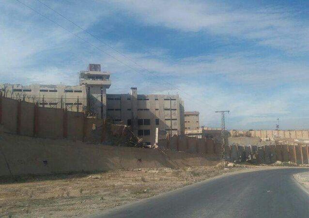 سجن إدلب في شمال سوريا