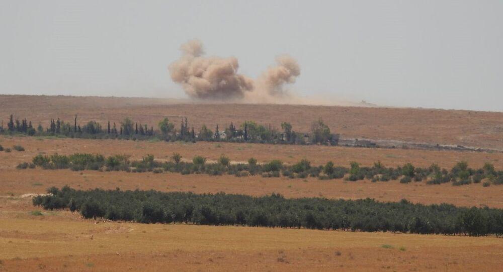 الجيش السوري يقتل ويجرح عناصر من النصرة في ريف حماة