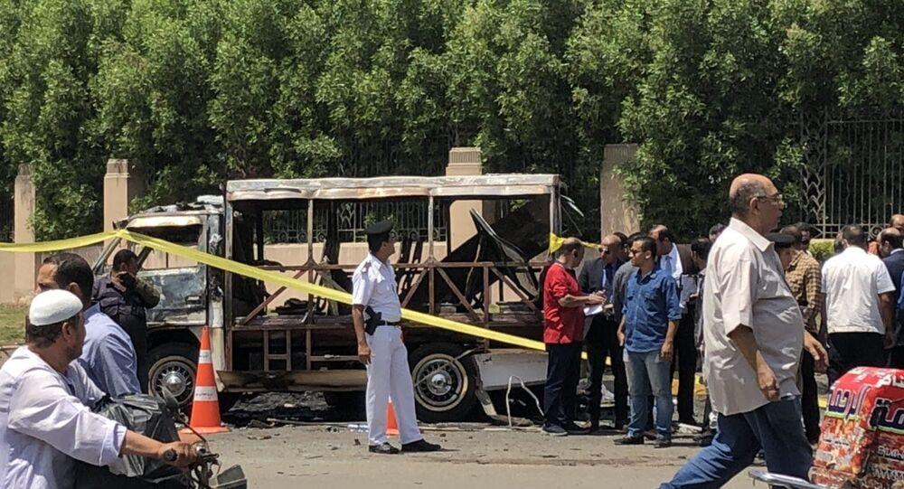 انفجار سيارة الدقي