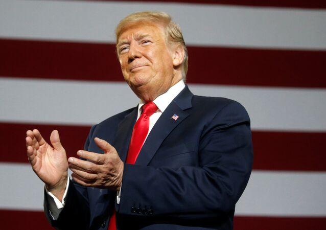 الرئيس الأمريكي دونالد ترامب 4 أغسطس/ آب 2018