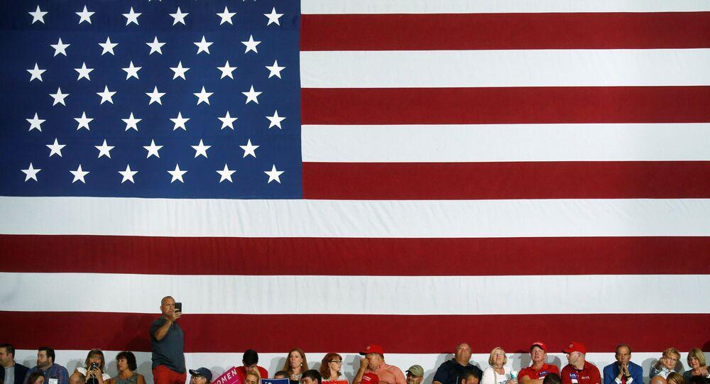 العلم الأمريكي