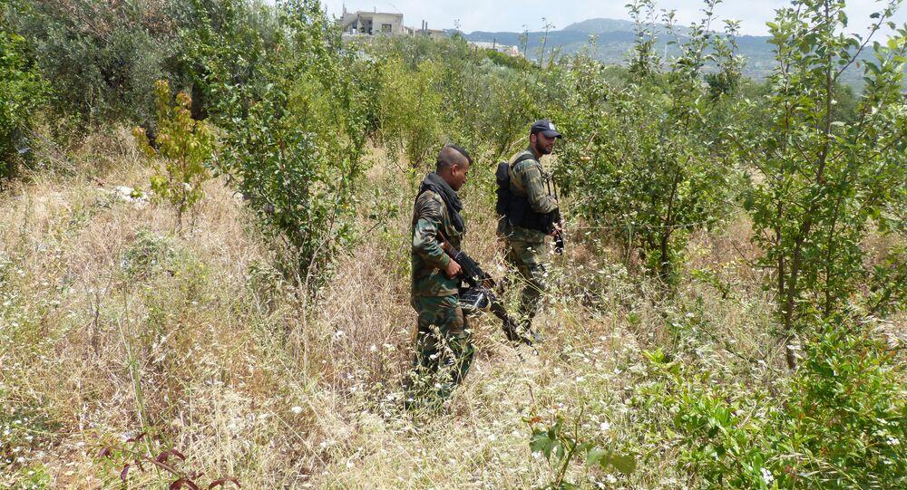 الجيش السوري في ريف اللاذقية، سوريا