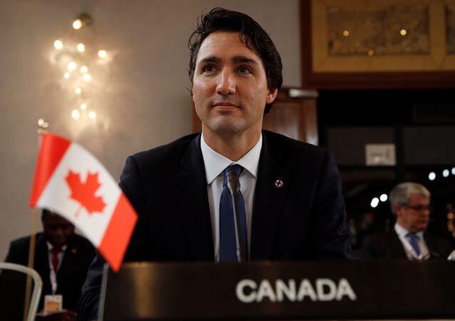 رئيس وزراء كندا جاستن ترودو