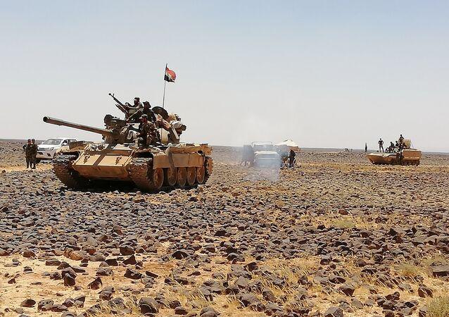 الجيش السوري يقترب من إعلان بادية السويداء محررة