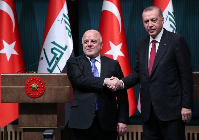 أردوغان والعبادي