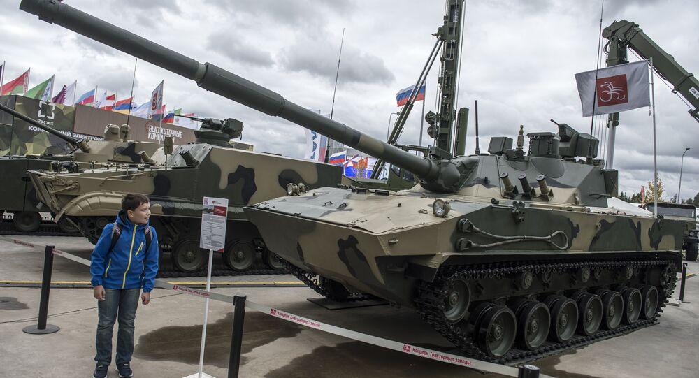 الدبابة الروسية سبروت – إم.دي.إم – 1 البرمائية