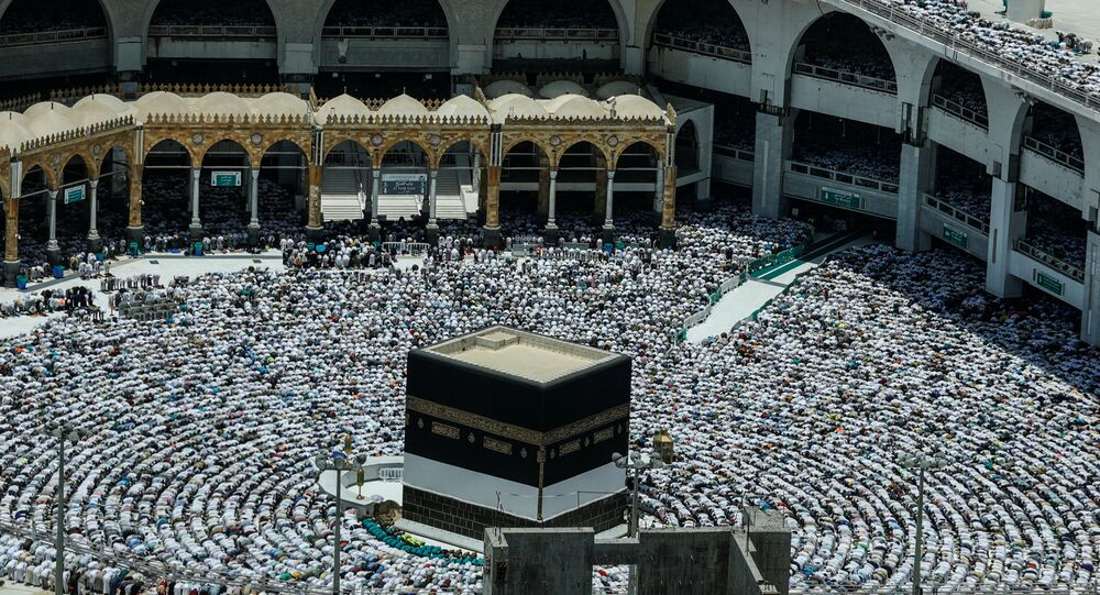 مراسم الحج، الكعبة، مكة، السعودية، أغسطس/ آب 2018